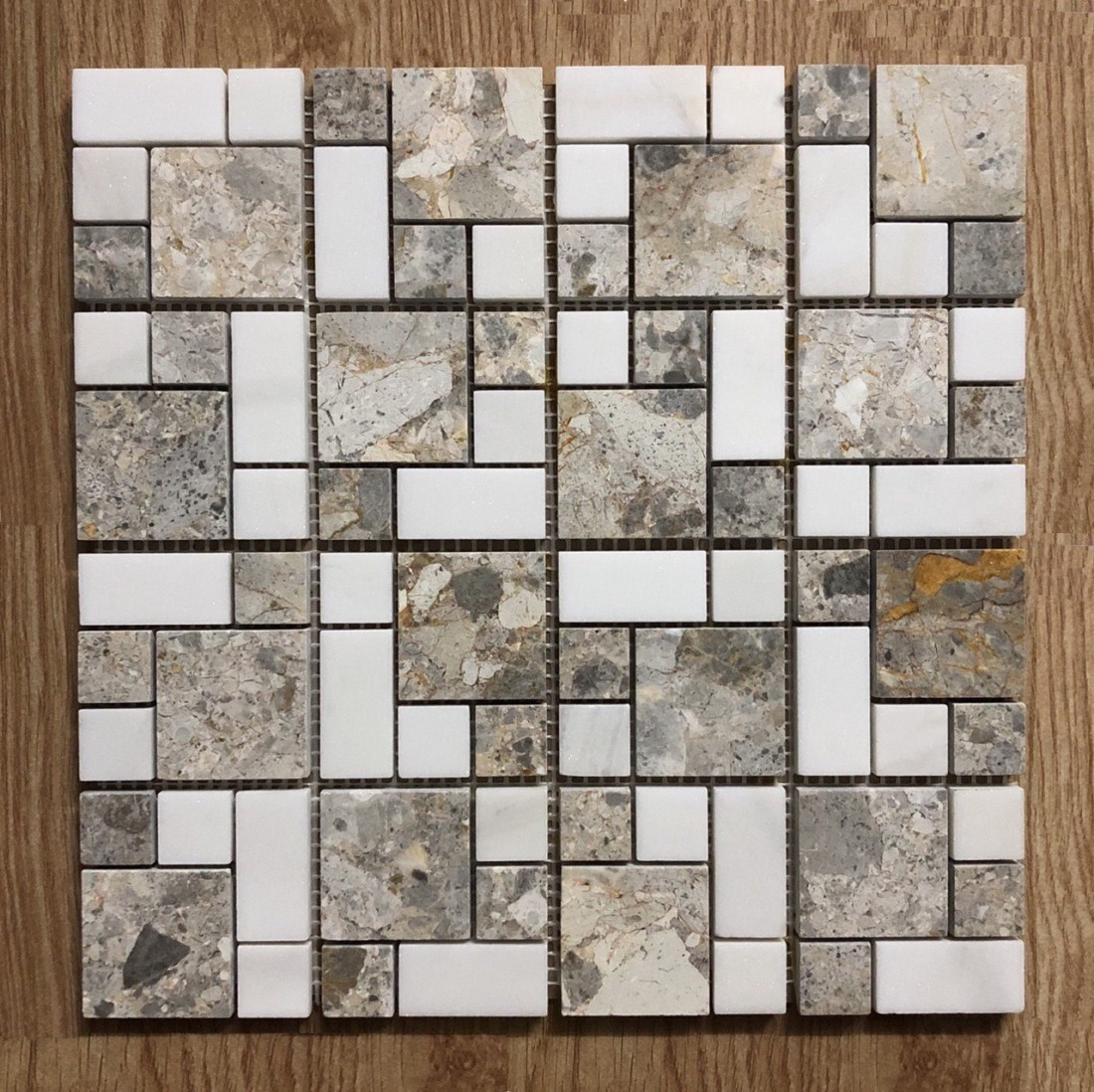 Gạch Mosaic đá marble