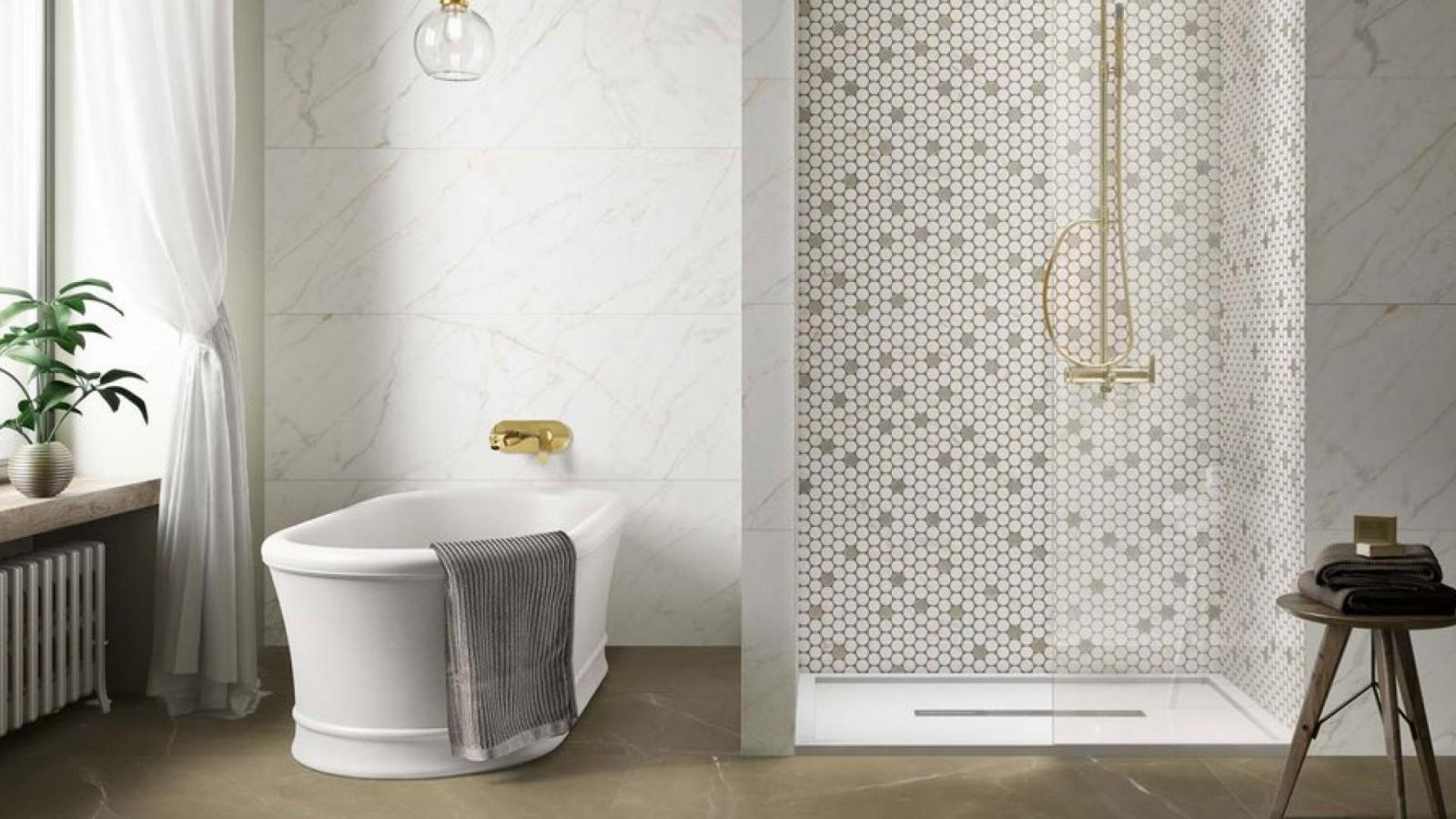 Gạch Mosaic trong thiết kế nội thất