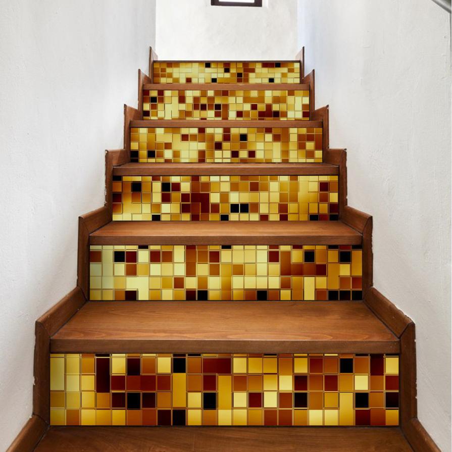 Gạch Mosaic ốp cầu thang