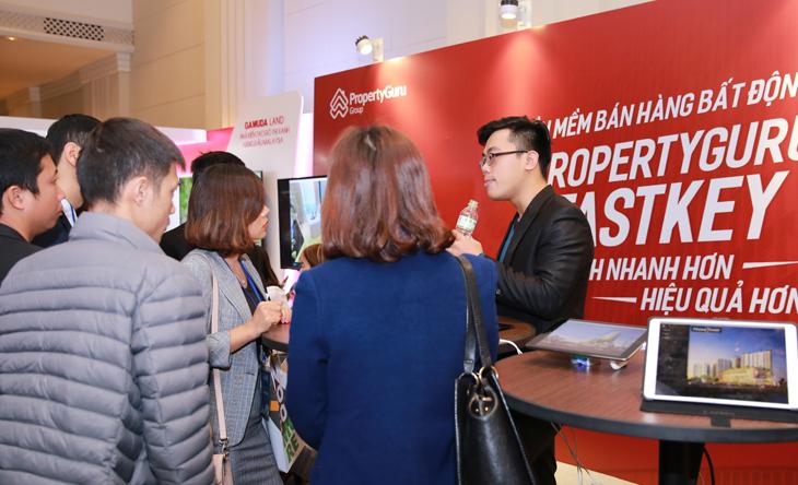 buổi giới thiệu ứng dụng Fastkey của Property Guru tại Việt Nam