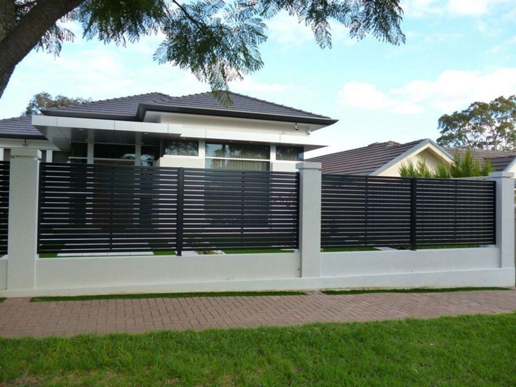 Thiết kế hàng rào sắt đẹp