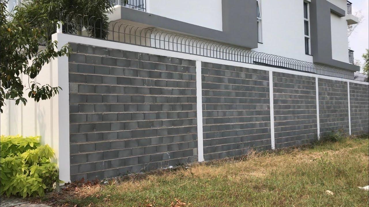 Tường rào gạch Block