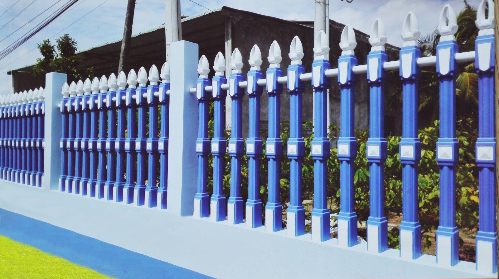Mẫu hàng rào bê tông ly tâm đẹp