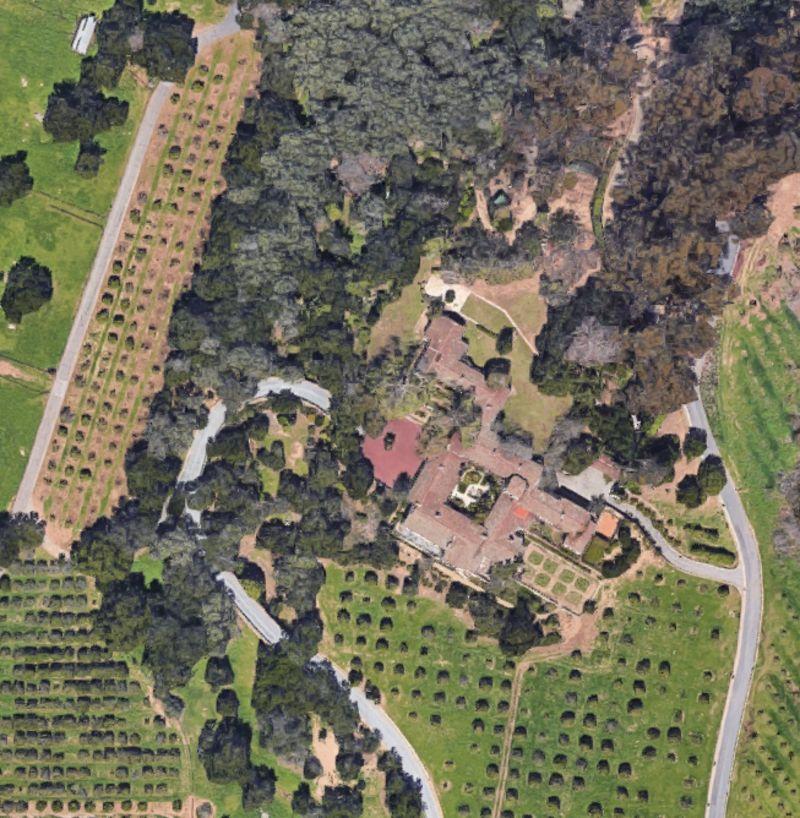 Số 2500 East Valley, Montecito