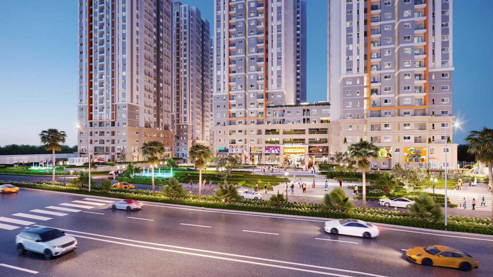 Dự án khu căn hộ Bien Hoa Universe Complex vừa được giới thiệu tại TP.Biên Hòa do Hưng Thịnh Land phát triển