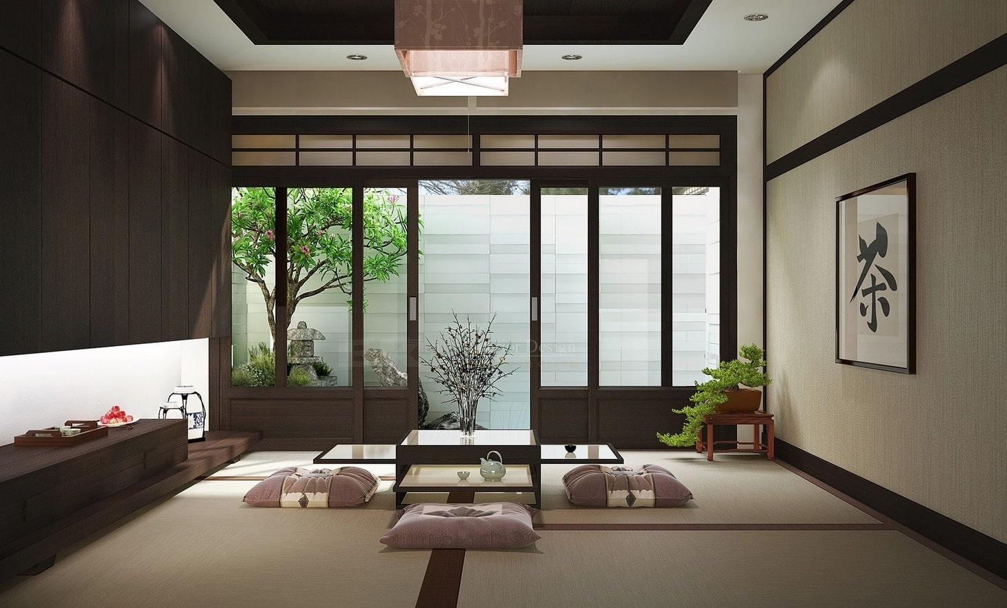 Thiết kế nhà ở phong cách Zen