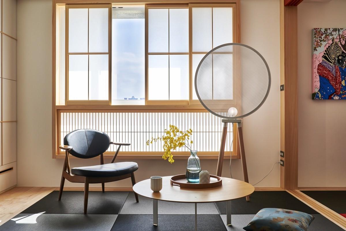 Phong cách Zen sử dụng đồ nội thất truyền thống Nhật Bản