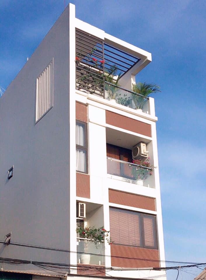 Nhà phố 4 tầng