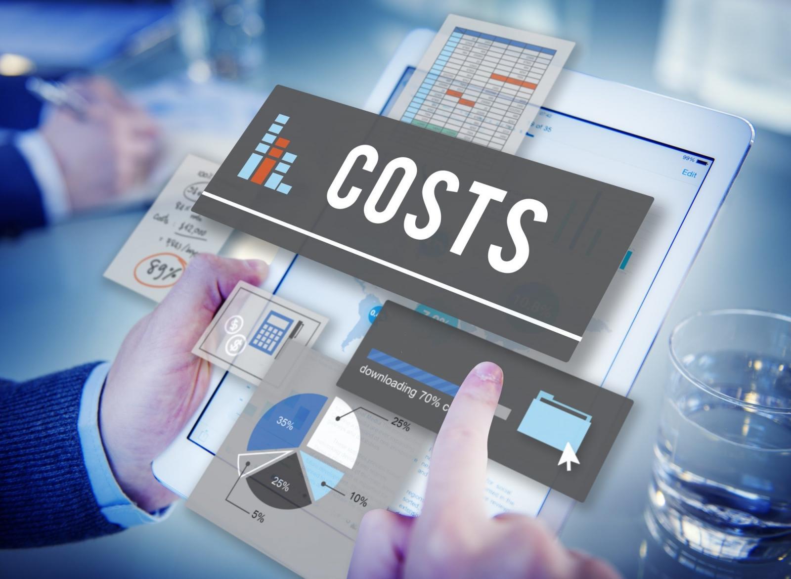 minh họa chi phí hạng mục chung