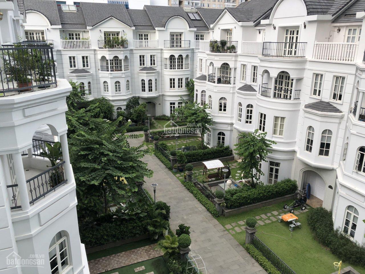 Biệt thự sân vườn Saigon Pearl, nhà đang trống dễ decor theo sở thích, Quận Bình Thạnh, giá 85 tỷ
