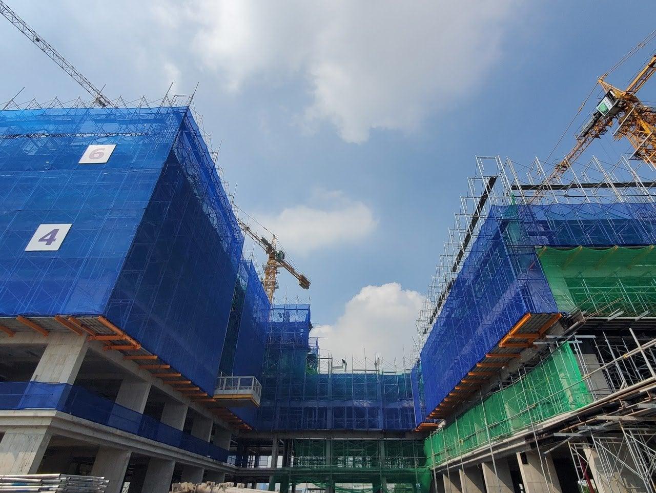 Hình ảnh một dự án căn hộ tại TP.HCM
