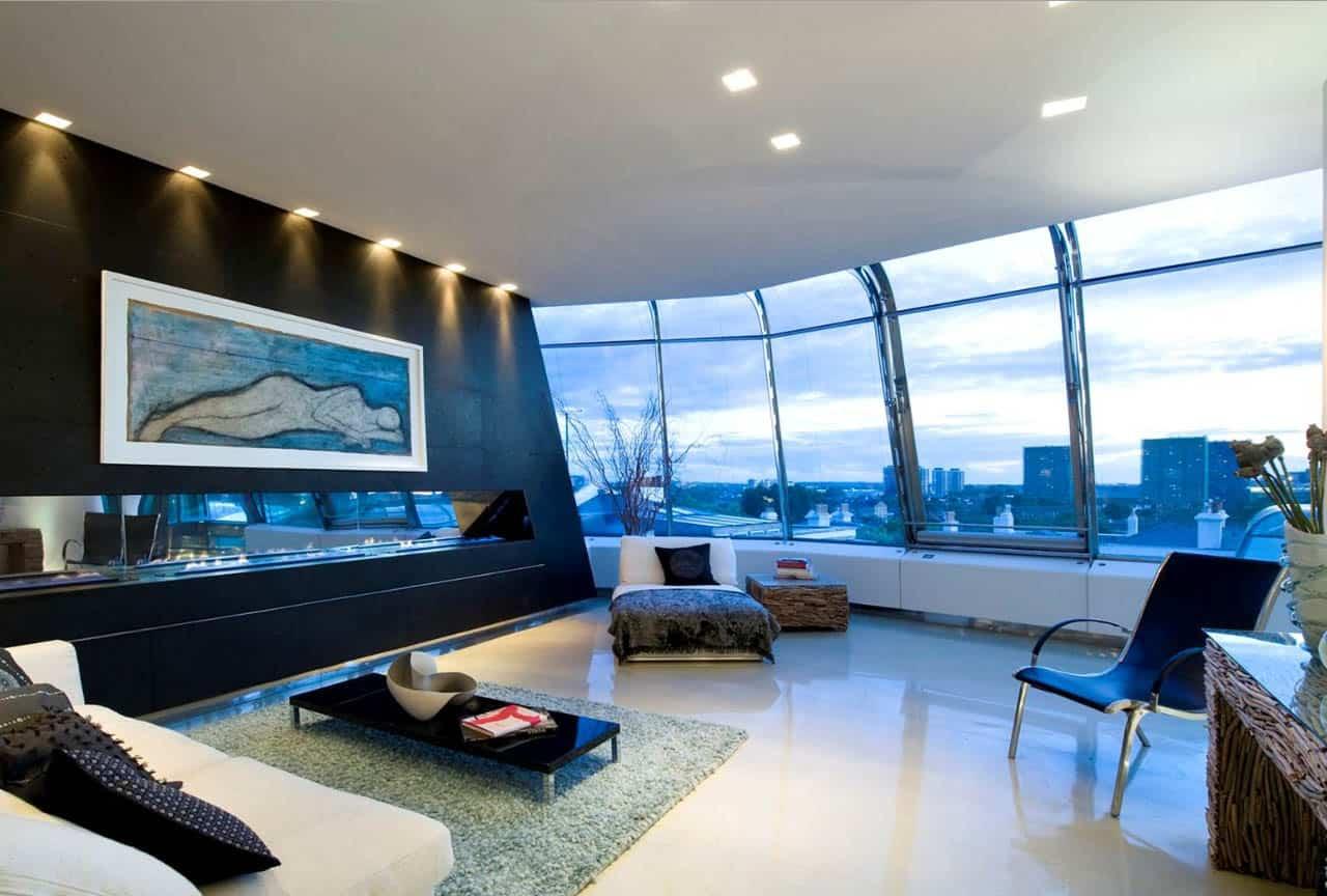 Phong cách Hitech trong thiết kế nội thất