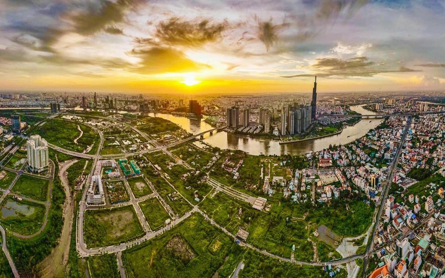 hình ảnh thị trường bất động sản 2021