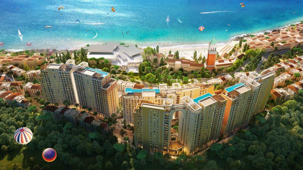 Phối cảnh tổng thể dự án Sun Grand City Hillside Residence