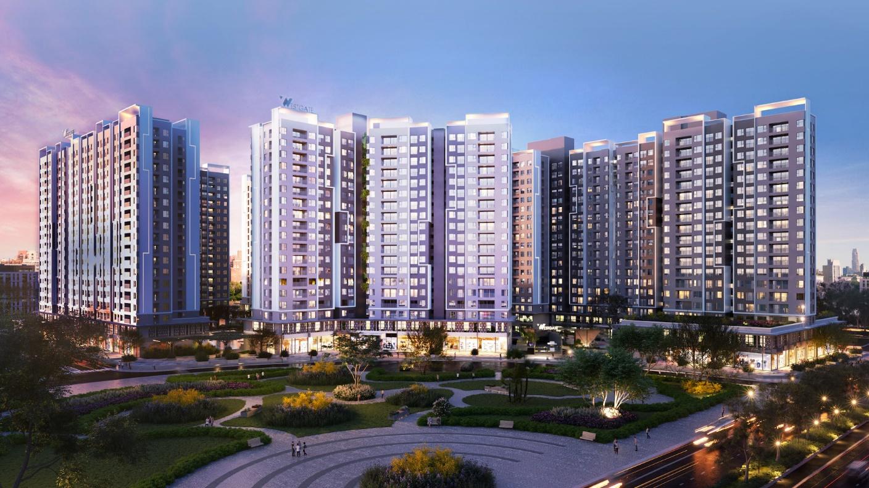 Phối cảnh dự án chung cư Westgate.