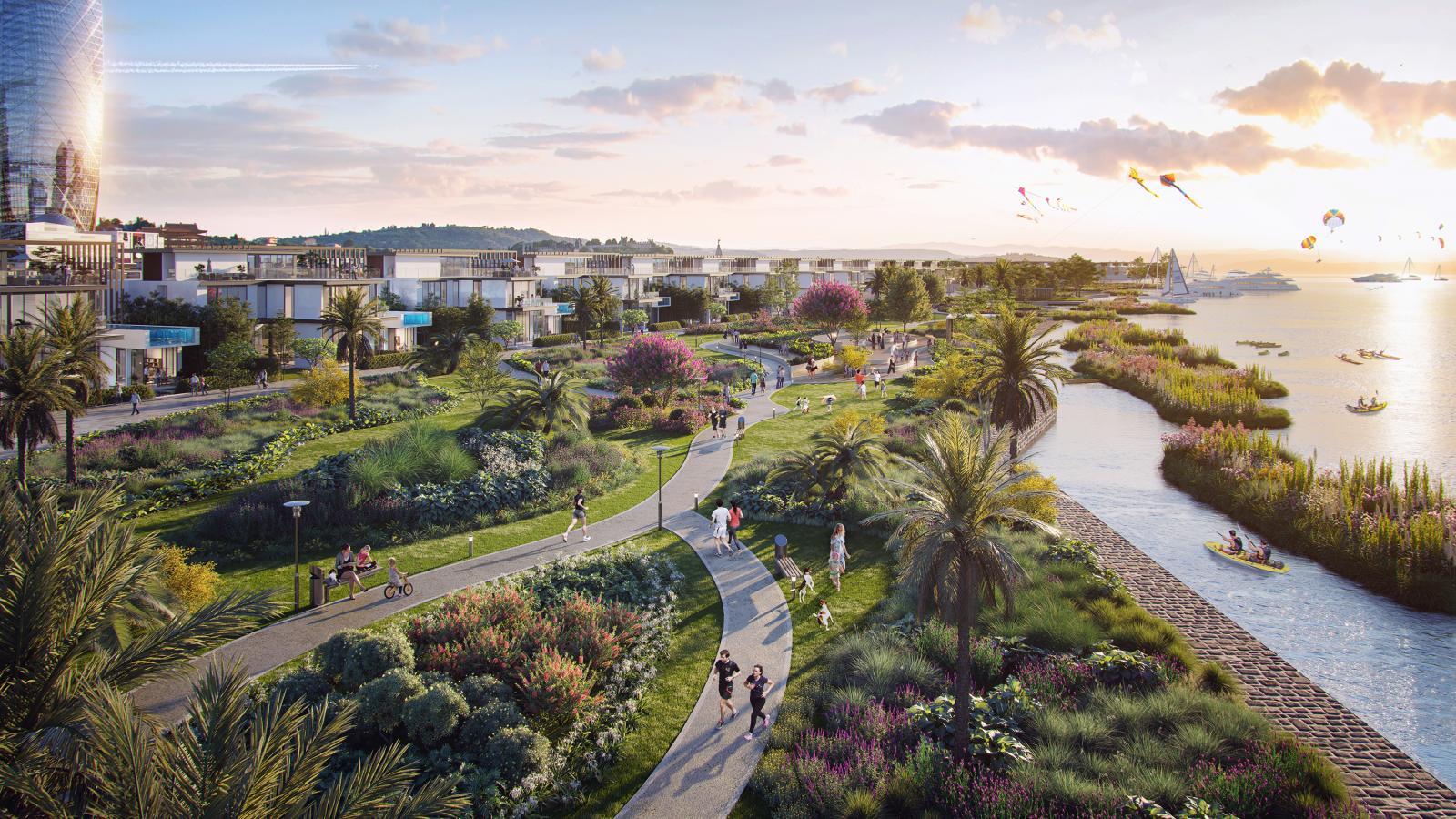 20210119135731 f3a1 Tin thị trường BĐS mới: Đảo sinh thái gần trung tâm TP.HCM
