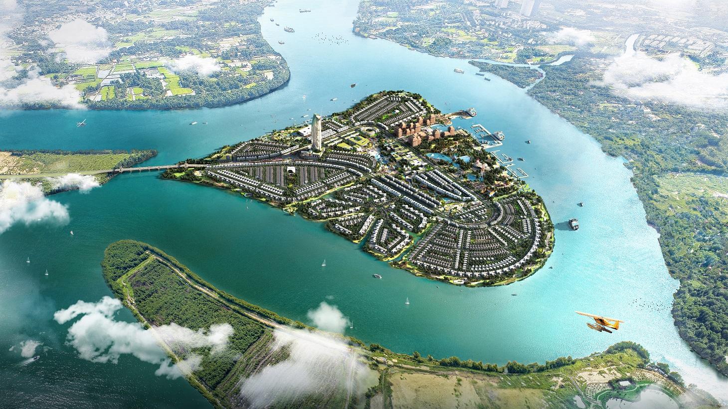 20210119140216 b318 Tin thị trường BĐS mới: Đảo sinh thái gần trung tâm TP.HCM