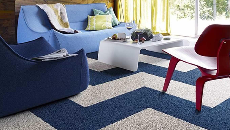 Cách chọn thảm phòng khách phù hợp với thiết kế nội thất