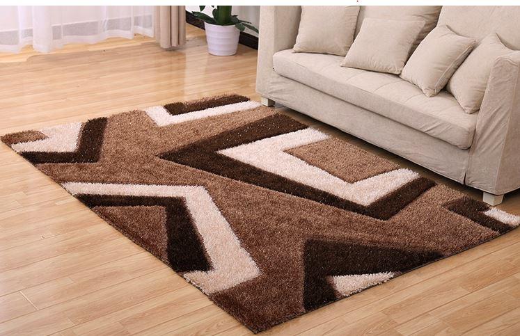Các loại thảm sợi ngắn hiện được sử dụng khá phổ biến trong các thiết kế nội thất căn hộ hiện đại.