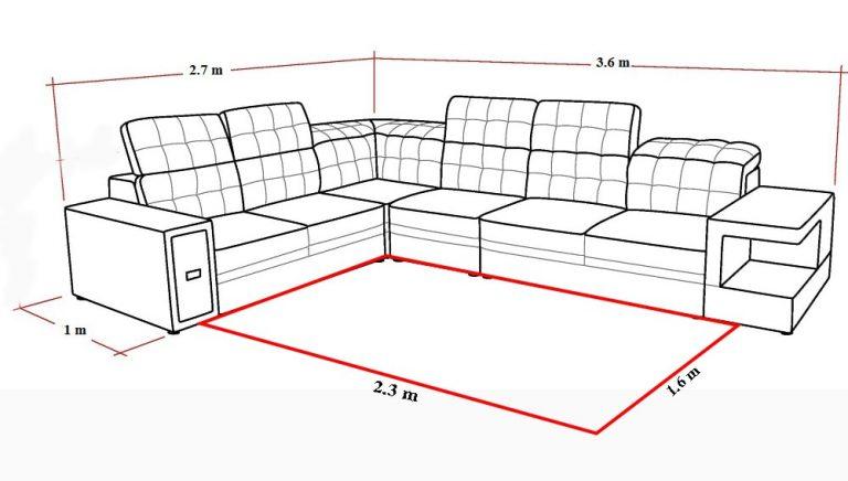 Cách trải thảm phòng khách kiểu lọt lòng