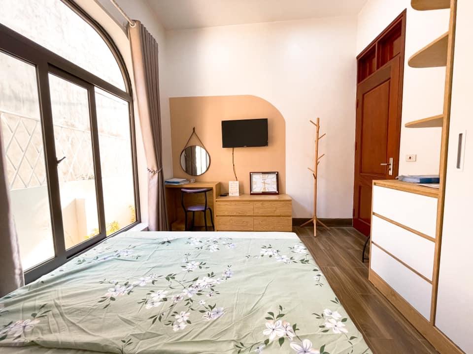 Phòng ngủ ấm cúng cho bố mẹ già