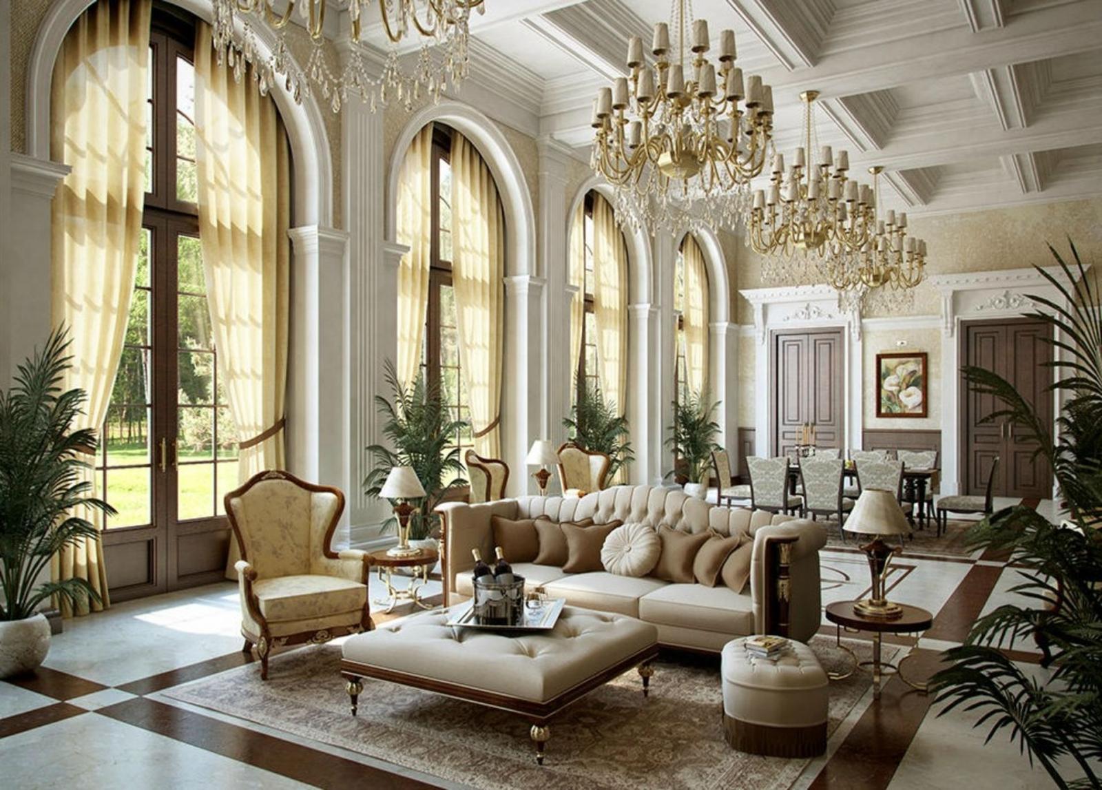 bên trong căn nhà mang phong cách nội thất cổ điển đẹp