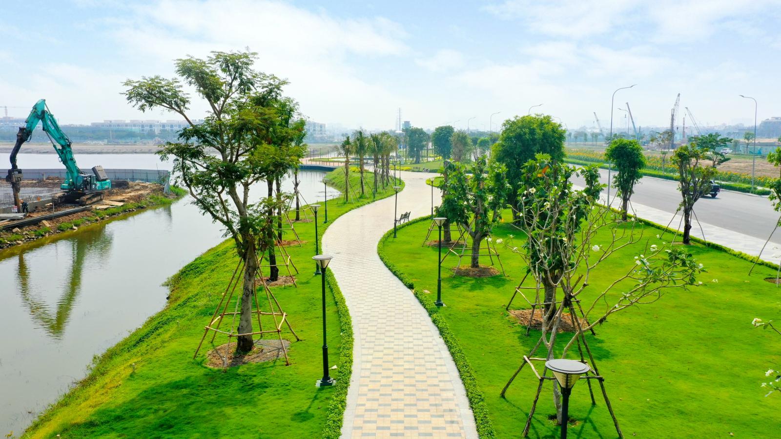 20210129153212 dbf4 Tin thị trường BĐS mới: Hơn 350 tỷ đồng hoàn thiện công viên và tuyến đi bộ tại Van Phuc City