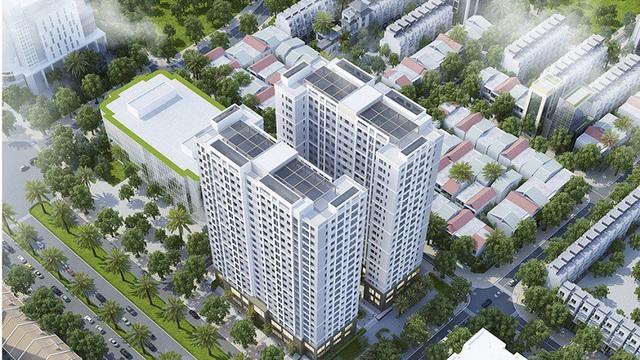 hình ảnh chung cư Hoàng Mai