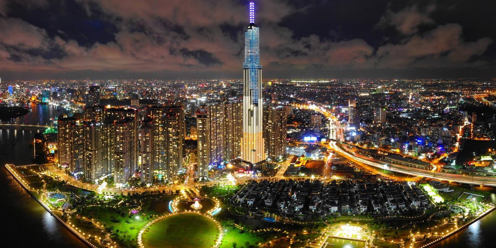Quận Bình Thạnh, TP Hồ Chí Minh về đêm