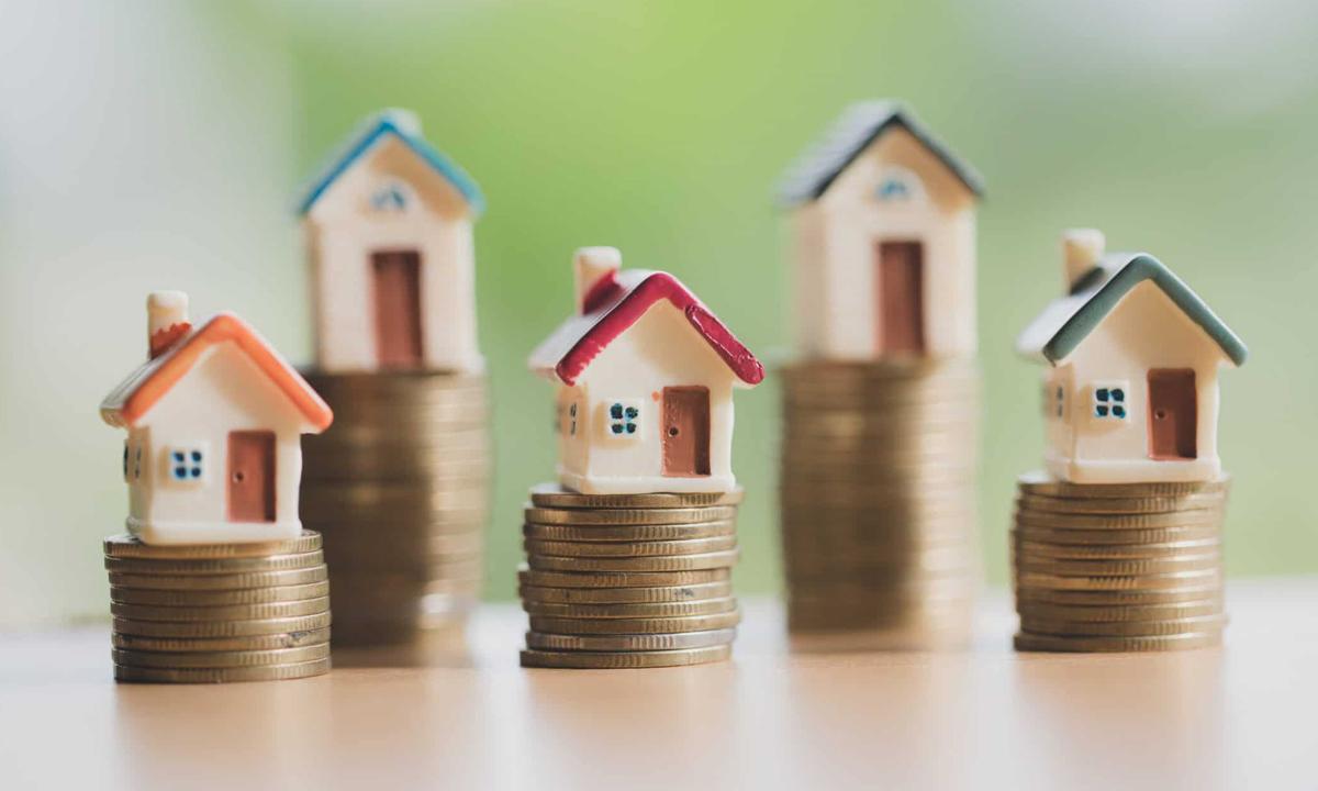hình minh họa đầu tư bất động sản