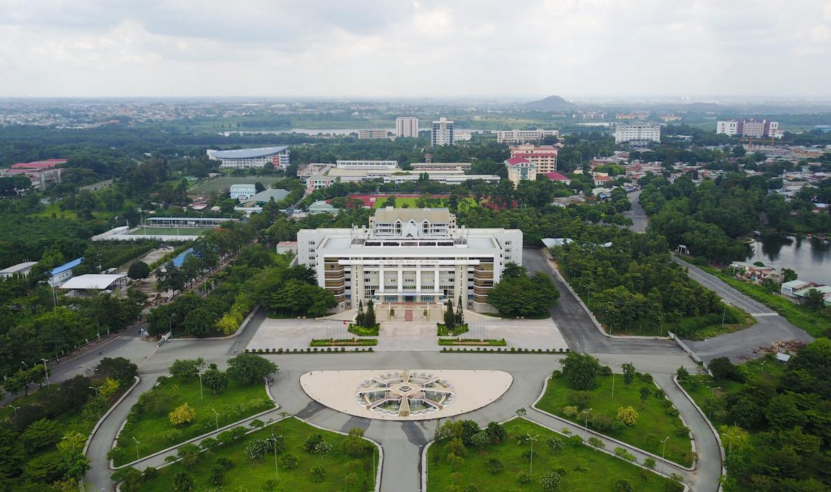 khu đại học quốc gia tphcm