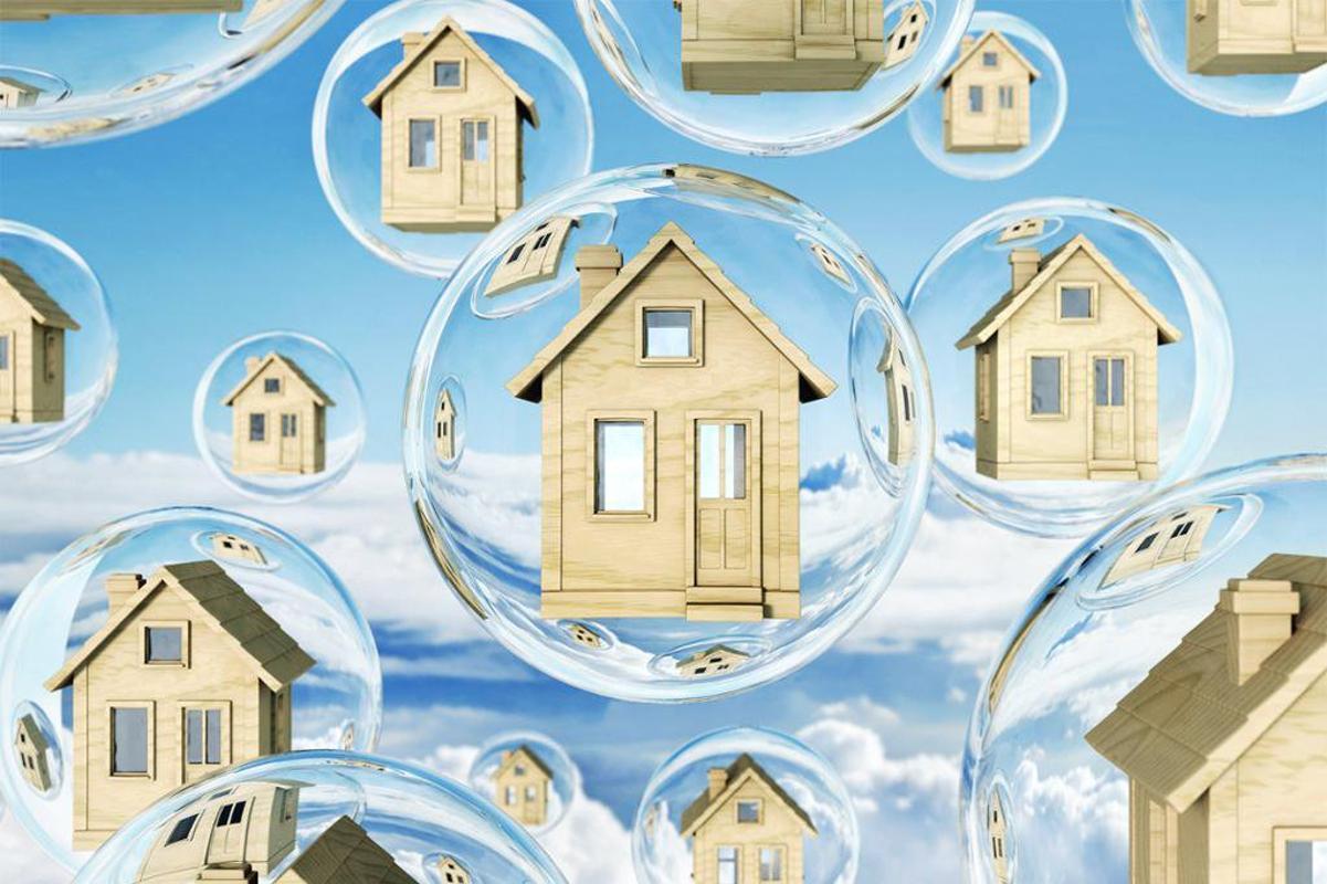 Bong bóng thị trường bất động sản