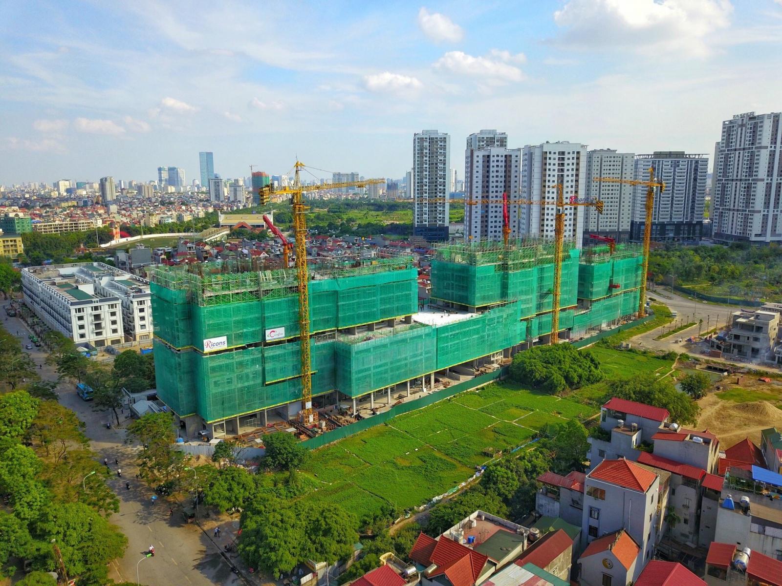 Dự án bất động sản đang triển khai.