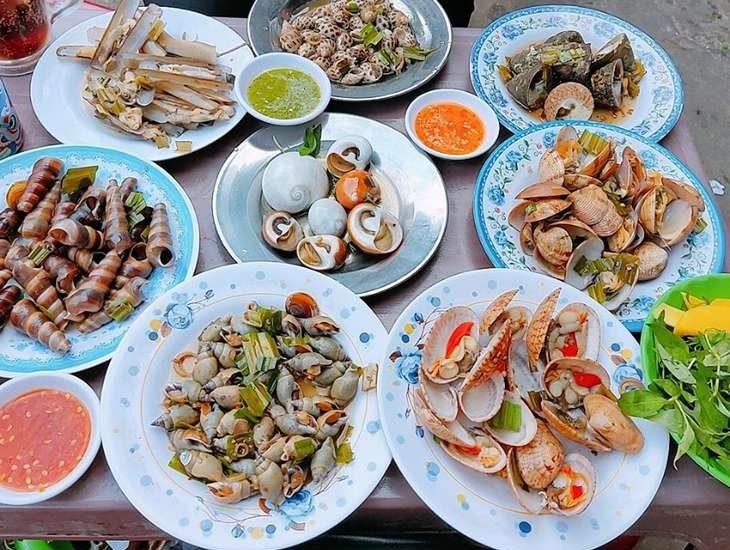 Quán ốc ngon Quận 8 Sài Gòn