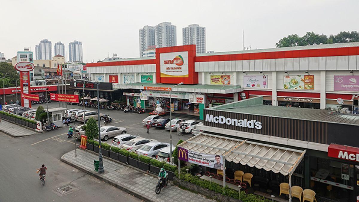 Trung tâm thương mại Satra Phạm Hùng