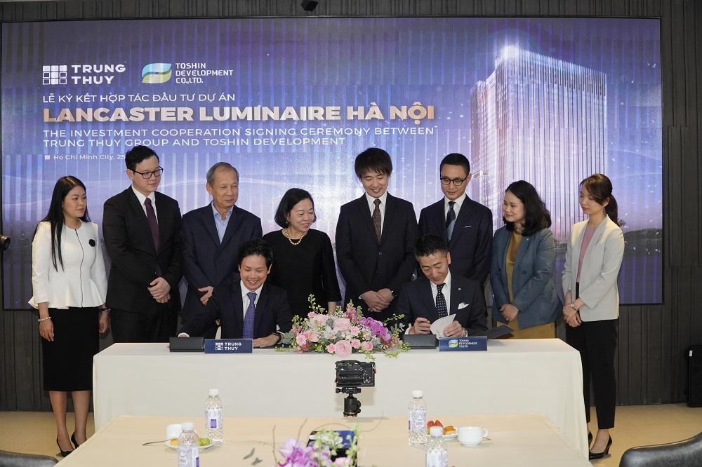 Takashimaya bắt tay Trung Thủy Group triển khai dự án Lancaster Luminaire