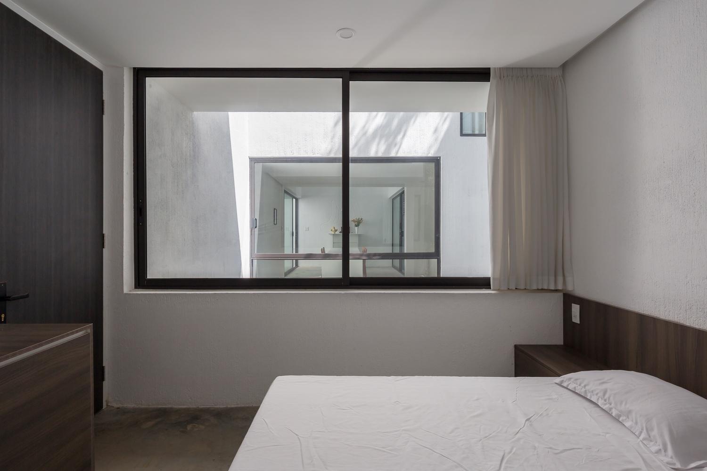 phòng ngủ tối giản