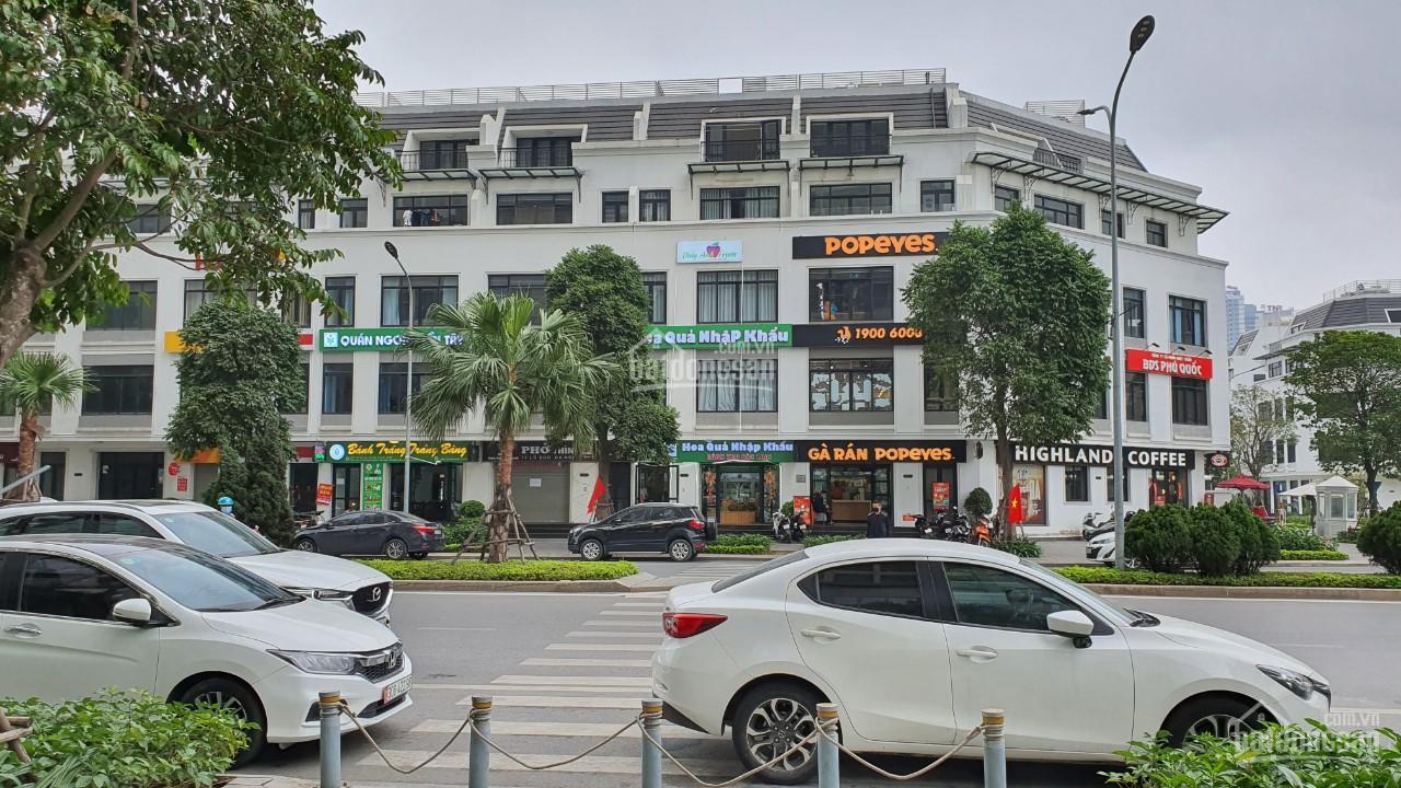 Bảng hàng shophouse Vinhomes Gardenia Hàm Nghi Nam Từ Liêm, giá siêu tốt từ CĐT, LH: 0933786378