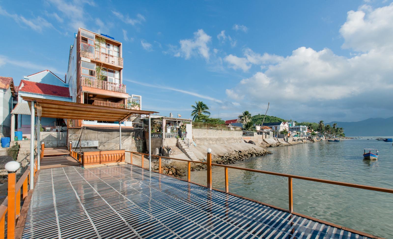 An's House tọa lạc tại làng chài Tân Thành