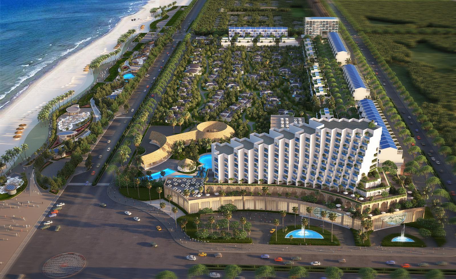 Phối cảnh Thera Premium hưởng trọn tiện ích 5 sao Khu phức hợp Việt Beach – Ngay trung tâm TP biển Tuy Hòa, Phú Yên