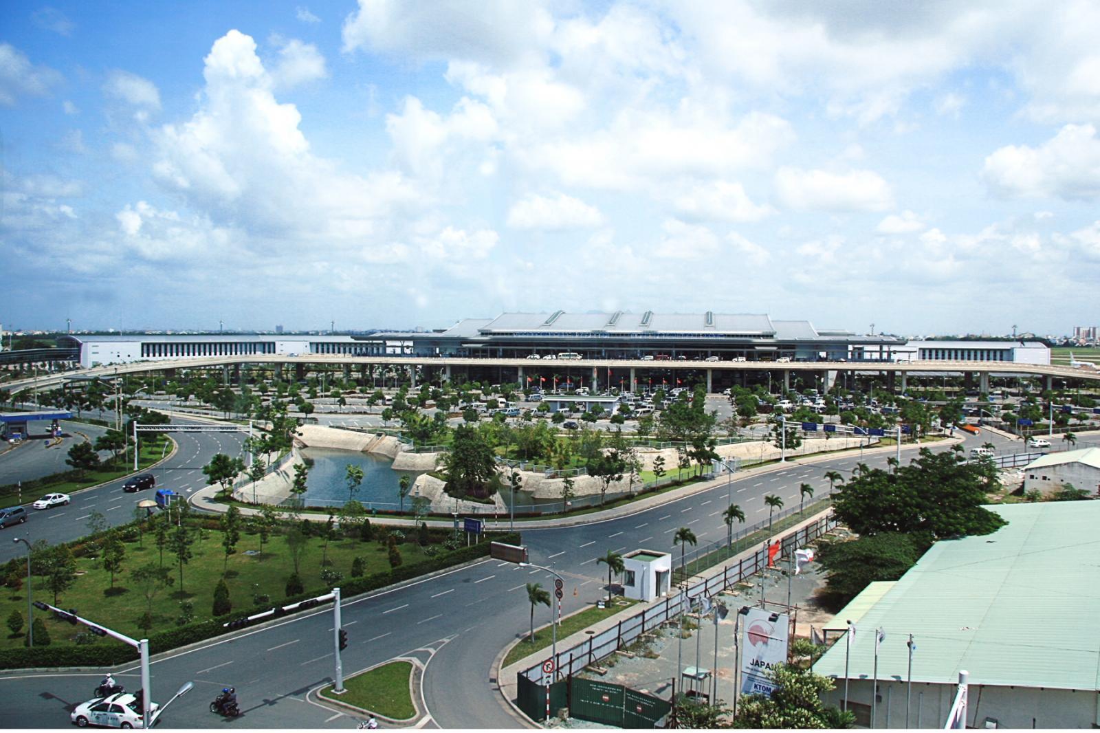 Quận Tân Bình nhìn từ trên cao