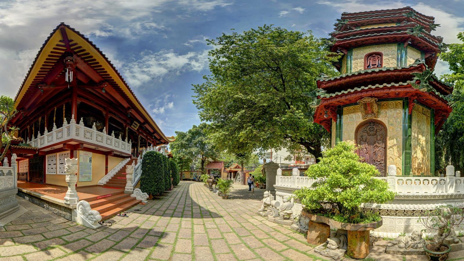 Một ngôi chùa ở Tân Bình