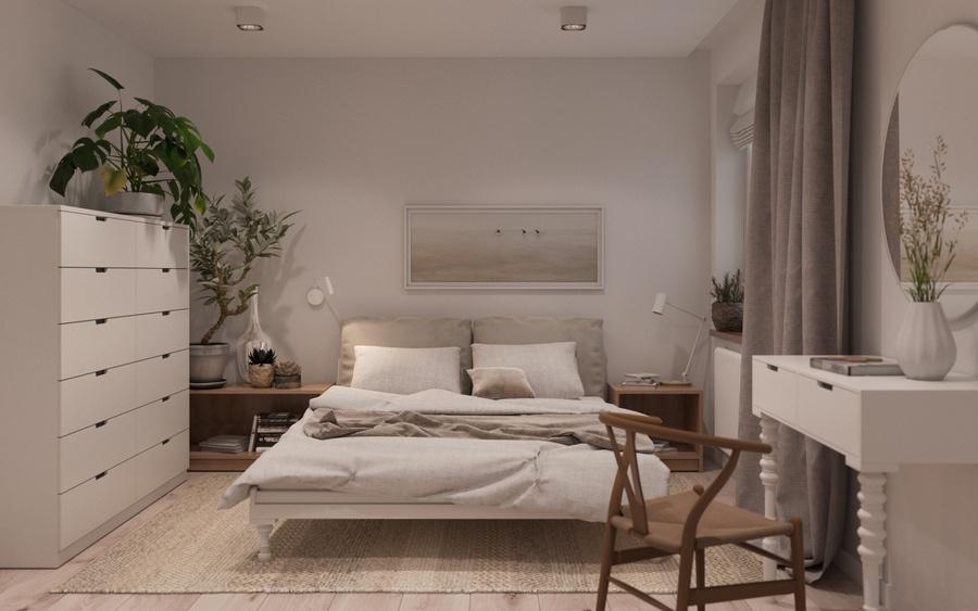 Trồng cây xanh phù hợp giúp cải thiện chất lượng không khí trong phòng không có cửa sổ.