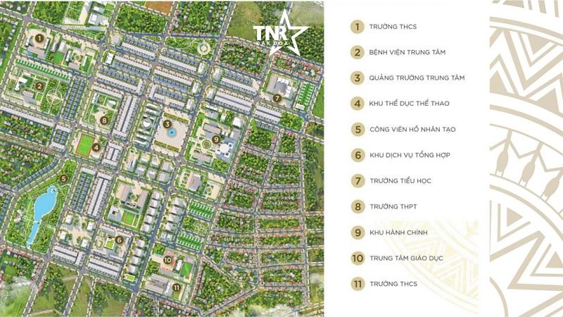 Tiện ích dự án TNR Đak Đoa