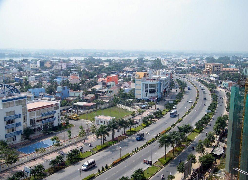 Thành phố Biên Hòa nhìn từ trên cao