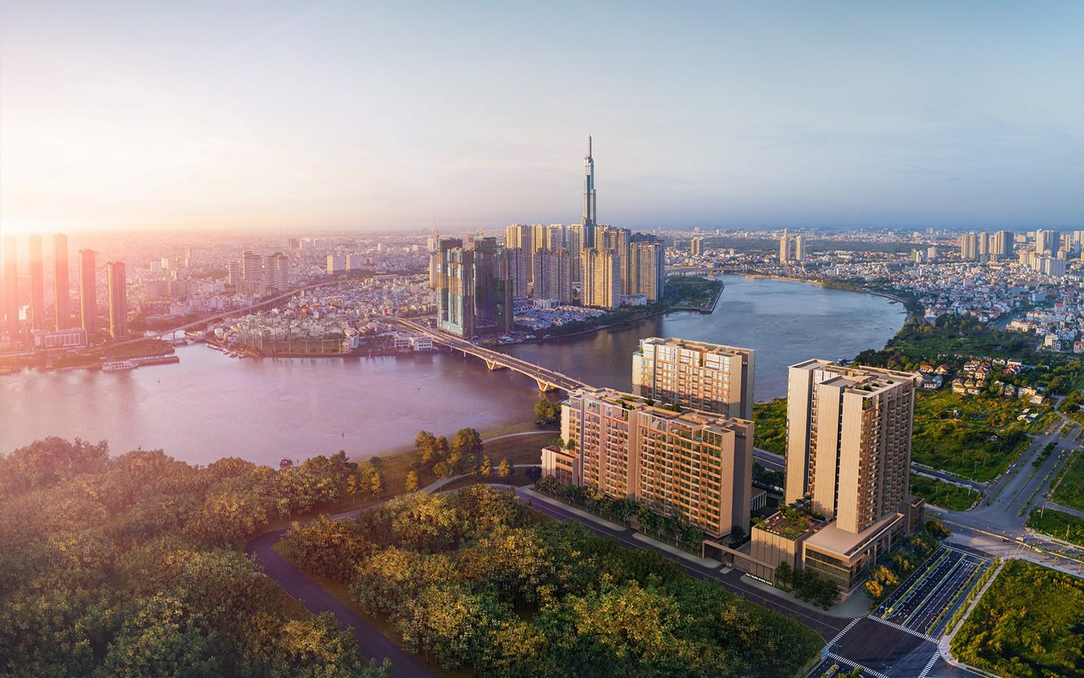 Các dự án tại đô thị Thủ Thiêm đều được quy hoạch thông minh
