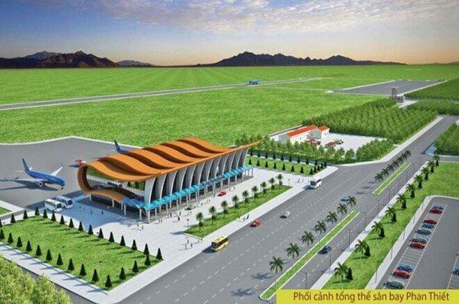 phối cảnh dự án sân bay