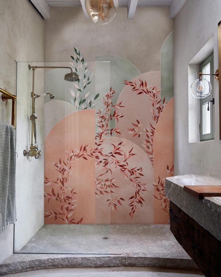 giấy dán tường phòng tắm