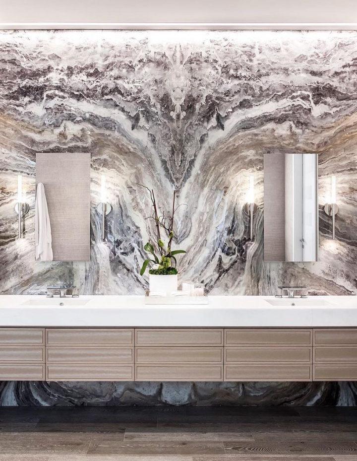 giấy dán tường dành cho nhà tắm