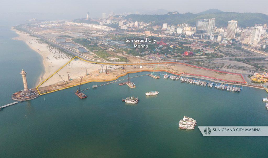 Vị trí dự án Sun Grand City Marina
